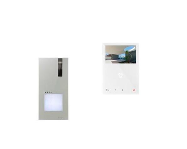 Comelit kit videocitofonico monofamiliare quadra