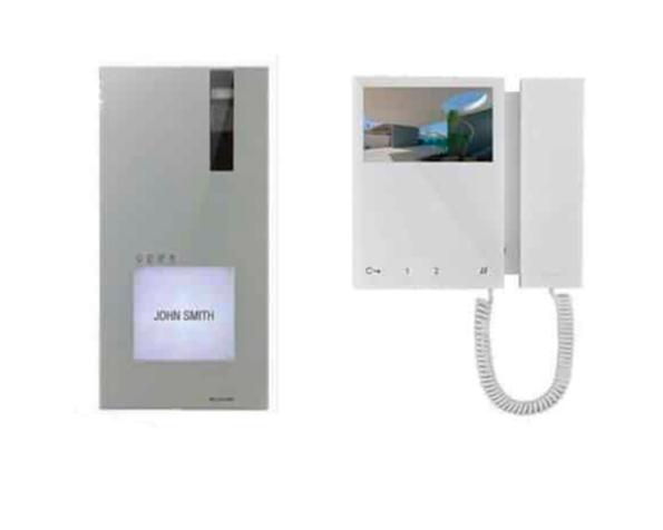 Kit monofamiliare videocitofono con monitor