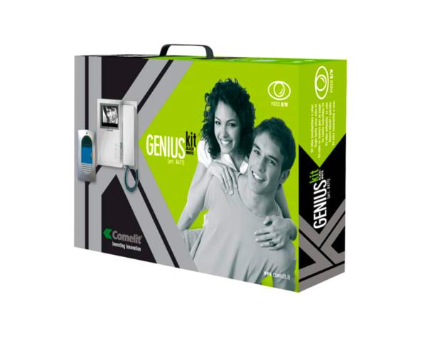 Videocitofono monofamiliare genius Comelit 8471 kit