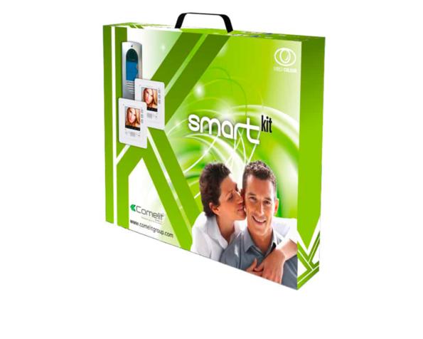 Smartkit Bifamiliare colori pulsantiera idea