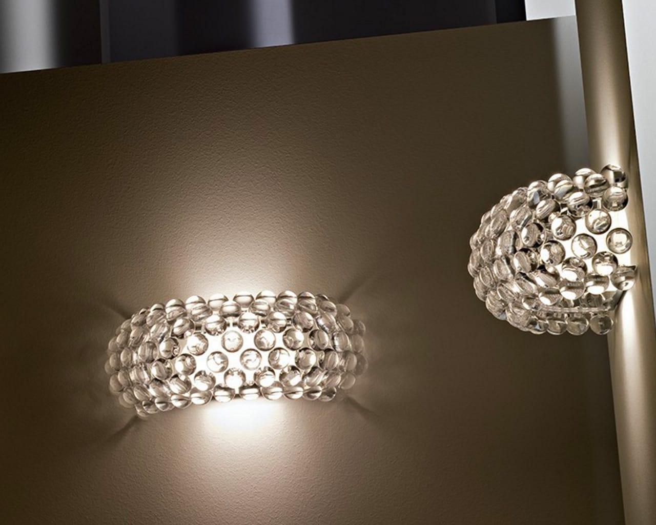 Caboche piccola lampada da parete foscarini ebay