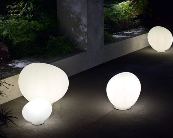 Outdoor Gregg Media Lampada da Terra Foscarini