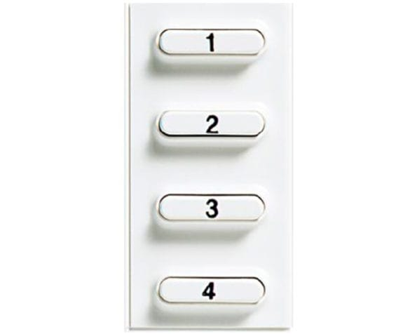 Accessorio 4 pulsanti pivot 2 fili