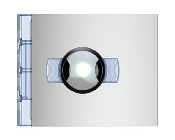 Fr telecamera n&d grandangolo allmetal