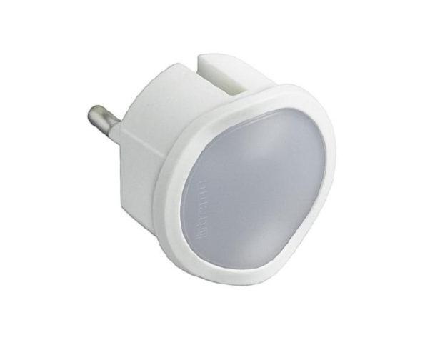 Kit – adattatore spina standard tedesca e luce emergenza – bianco