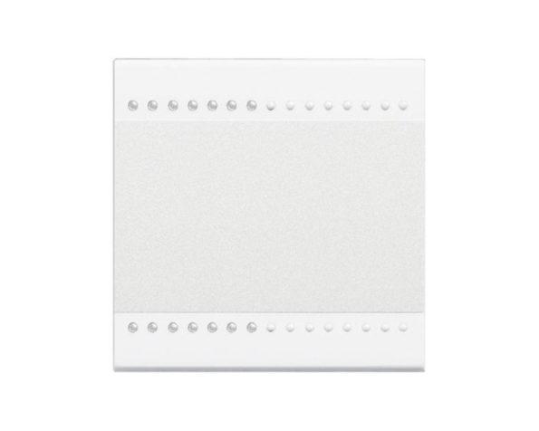 Copritasto Livinglight 2 funzioni – 2 moduli – bianco