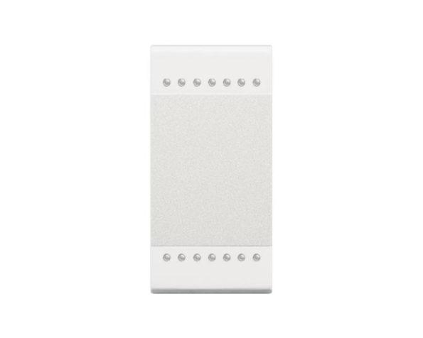 Copritasto Livinglight 2 funzioni – 1 modulo – bianco