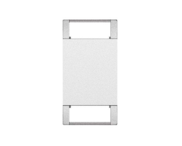 Copritasto Livinglight personalizzabile 2 funzioni – 1 modulo – bianco