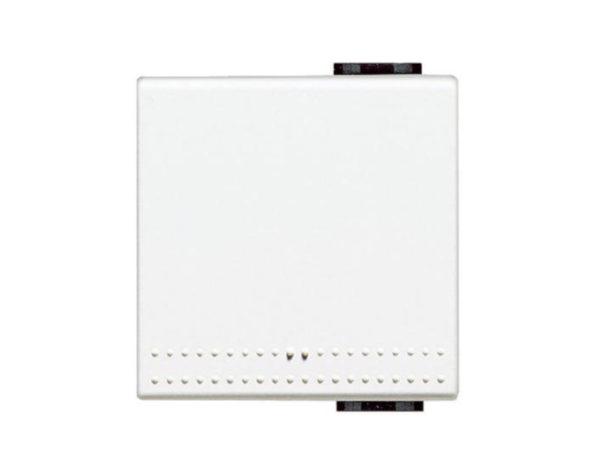 Copritasto 2 moduli per pulsante – completo di cerniera – Bianco