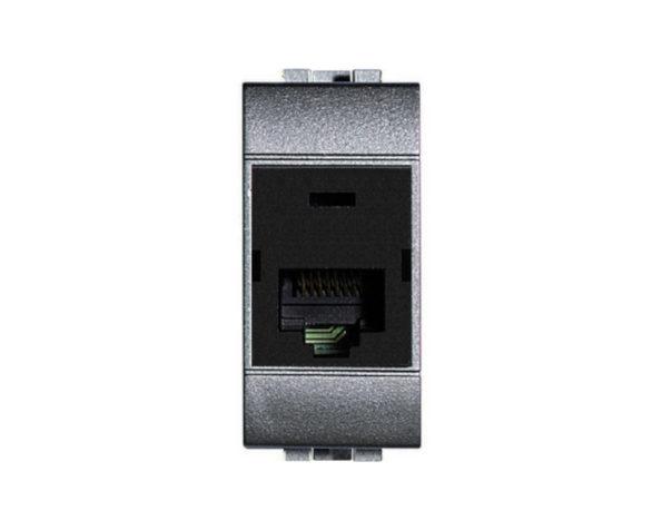 Connettore dati RJ45 Livinglight Tech categoria 6 UTP – connessione tipo 110 IDC