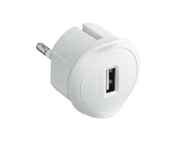 Kit – adattatore spina standard tedesca presa USB 1,5A – bianco