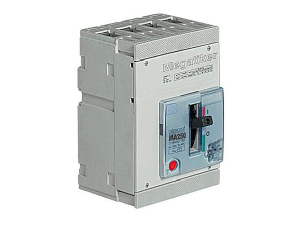 MA250 – interruttore scatolato MEGATIKER magnetotermico 4P
