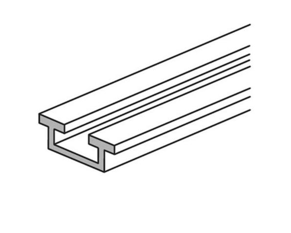 Barra in alluminio con profilo a C – In=630A (IP>30) 800A (IP<30) - lunghezza 1,6m - sezione 272mmq