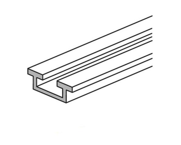 Barra in alluminio con profilo a C – In=800A (IP>30) 1000A (IP<30) - lunghezza 1,6m - sezione 440mmq