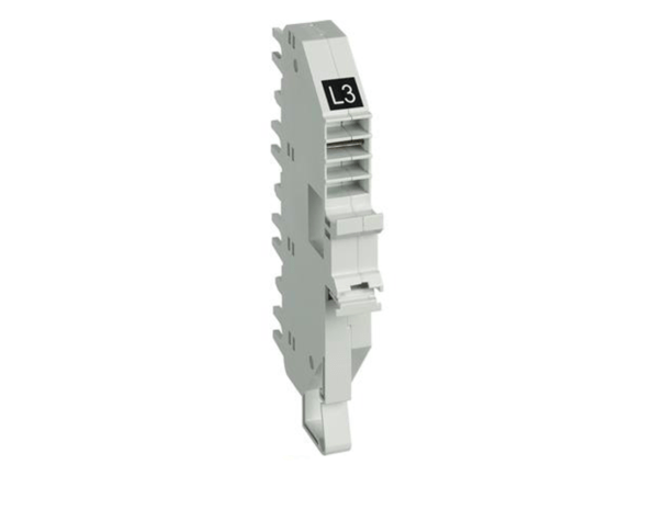 Base per collegamento plug-in BTDIN 1P – L3 – nero