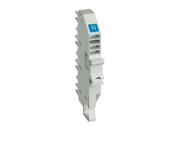 Base per collegamento plug-in BTDIN 1P – N – blu