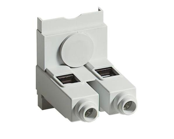 Prigioniero e dado scorrevole filettatura M8 per collegamento barre da 800A – lunghezza 20mm – 4 pezzi