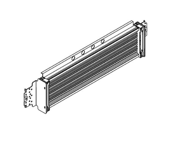 Barre di ripartizione alimentate larghezza 850mm da 36 moduli – In=400A – per quadri ed armadi MAS800