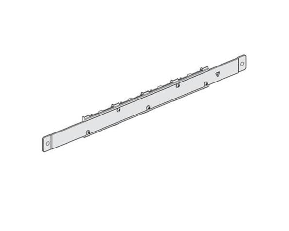 Portabarre intermedio per 4 barre da installare su FONDOATTIVO in MAS400 larghezza 850mm
